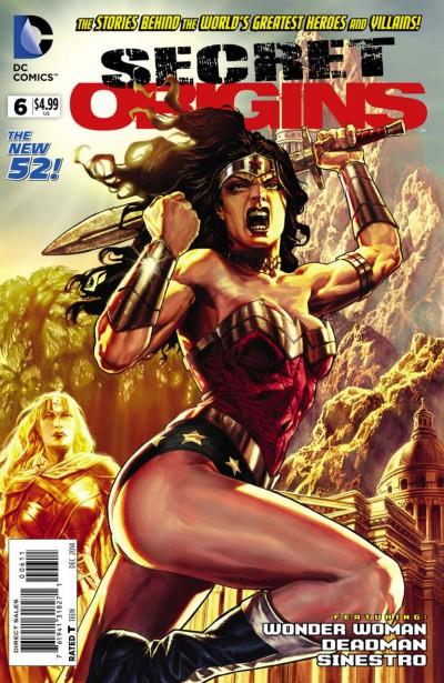 Secret Origins (2014) #6 VF/NM Lee Bermejo Wonder Woman Cover