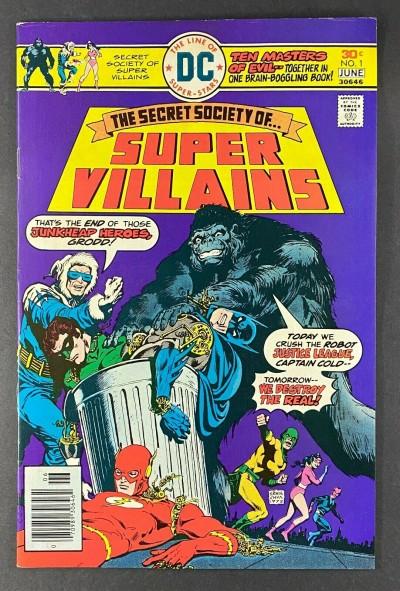Secret Society of Super-Villains (1976) #1 V-F (7.5) 1st Manhunter/Star Sapphire