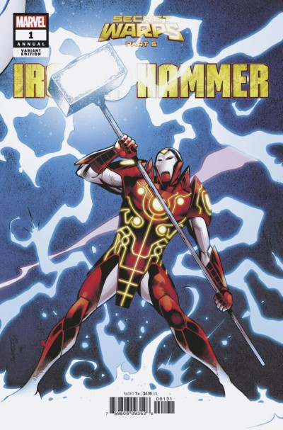 Secret Warps: Iron Hammer Annual (2019) #1 VF/NM Carlos Pacheco Variant Cover