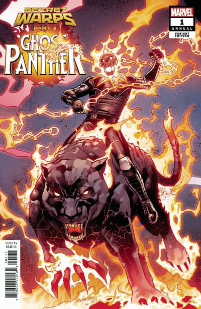 Secret Warps: Ghost Panther Annual (2019) #1 VF/NM 1st Appearance Doc Justice