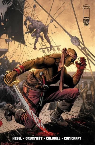 Section Zero (2019) #5 VF/NM José Luis García-López Cover Image Comics