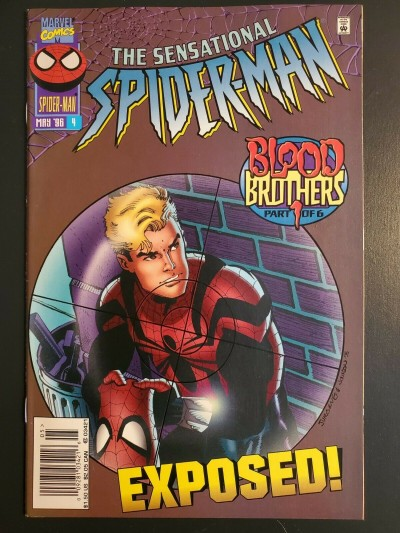 Sensational Spider-Man #4 (1996) NM (9.4) Blood Brothers part 1 of 6  