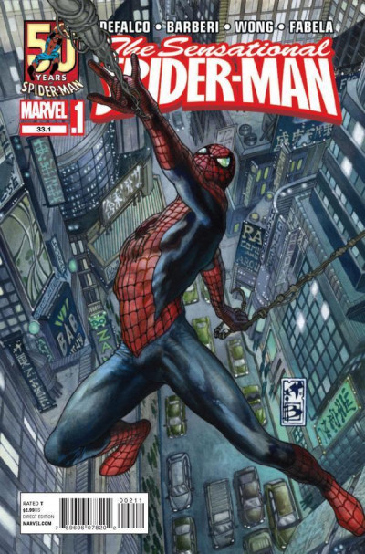 SENSATIONAL SPIDER-MAN #33.1 NM SIMONE BIANCHI COVER