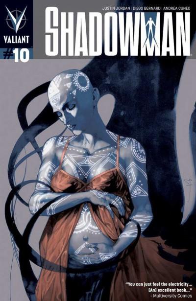 SHADOWMAN (2012) #10 VF+ - VF/NM COVER A VALIANT