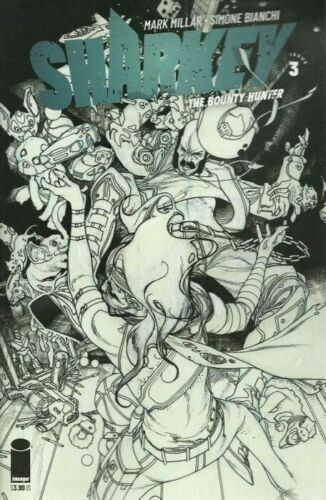 Sharkey the Bounty Hunter (2019) #3 VF/NM Simone Bianchi Sketch Cover Image