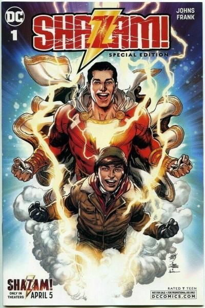 Shazam! Special Edition C2E2 Chicago Con Movie Promo VF/NM Zachary Levi