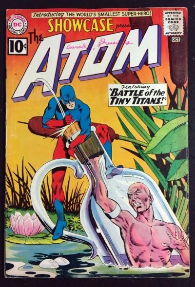 Showcase (1956) #34 VG/FN (5.0) 1st app Atom