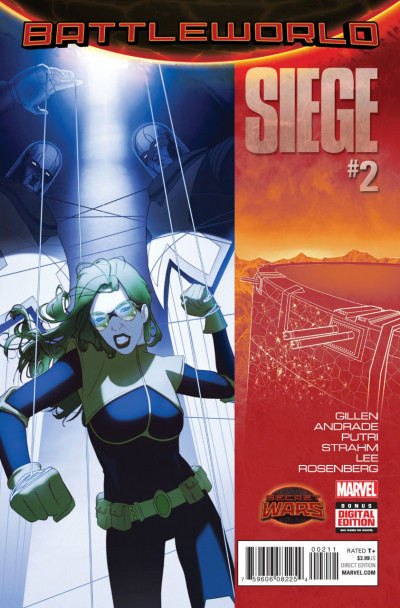 SIEGE (2015) #2 VF/NM SECRET WARS BATTLEWORLD