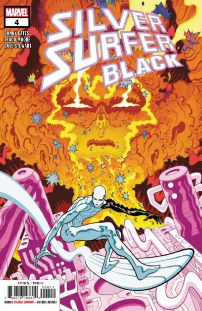 Silver Surfer: Black (2019) #4 VF/NM Tradd Moore Cover