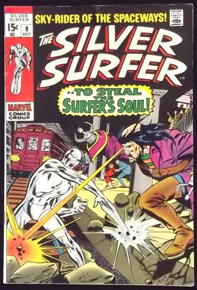 SILVER SURFER #9 VG