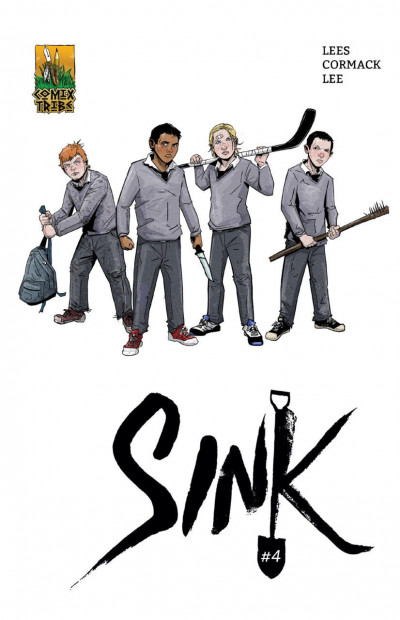Sink (2017) #4 VF/NM Covers A & B Comix Tribes