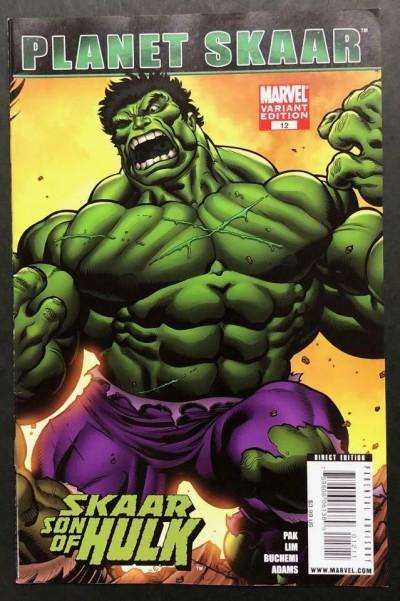 Skaar: Son of Hulk (2008) #12 VF+ Ed McGuinness Hulk Connecting Variant Cover