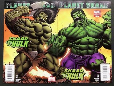 Skaar: Son of Hulk (2008) #12 VF/NM Ed McGuinness Connecting Variant Cover Set