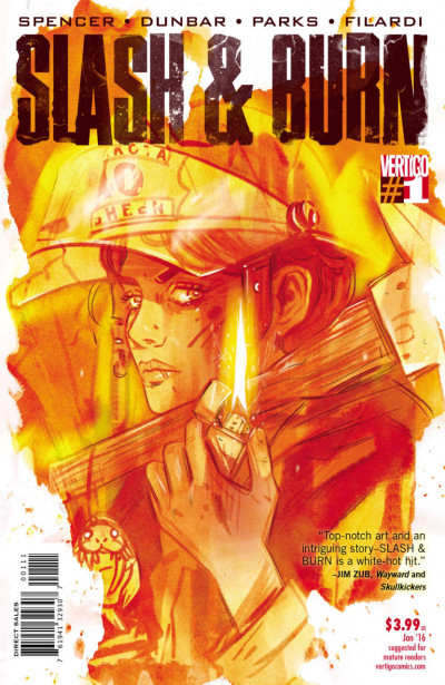 SLASH & BURN (2015) #1 OF 6 VF/NM VERTIGO