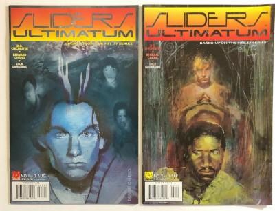 Sliders (1996) Lot of 9 comics 3 complete sets plus 2 specials Acclaim Comics