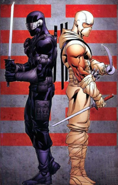 Snake Eyes (2011) #1 VF Retailer Incentive Virgin Variant Cover Storm Shadow IDW