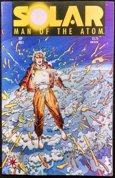 SOLAR, MAN OF THE ATOM #1 NM OR BETTER PRE-UNITY VALIANT