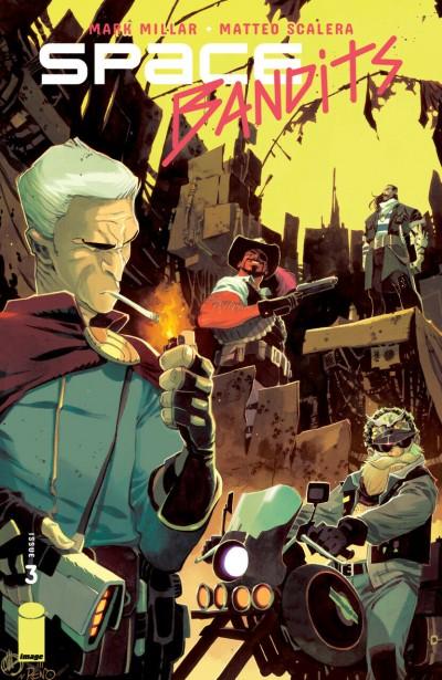Space Bandits (2019) #3 VF/NM Matteo Scalera Cover Image Comics