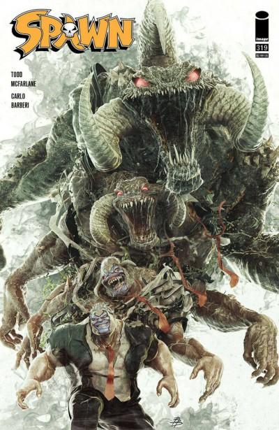 Spawn (1992) #319 VF/NM Bjorn Barends Cover Image Comics