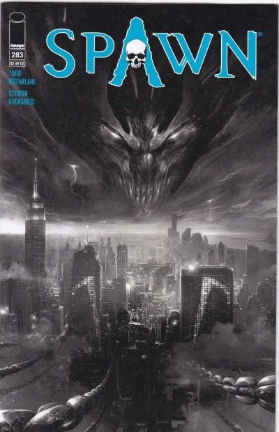 Spawn (1992) #283 VF/NM Black & White Variant Image Comics