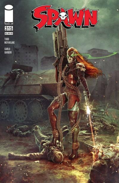 Spawn (1992) #315 VF/NM Bjorn Barends Cover Image Comics