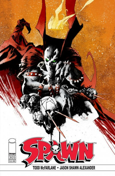 Spawn (1992) #305 VF/NM Jason Shawn Alexander Variant Cover Image Comics