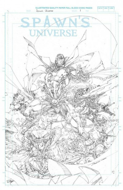 Spawn's Universe (2021) #1 VF/NM-NM 1:50 Booth Retailer Incentive Sketch Cover
