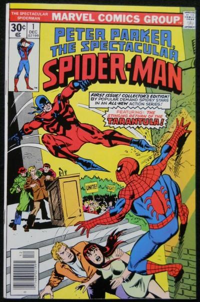 SPECTACULAR SPIDER-MAN #1 VF+ 1977