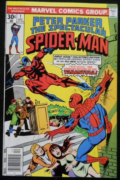 SPECTACULAR SPIDER-MAN #1 VF- 1977