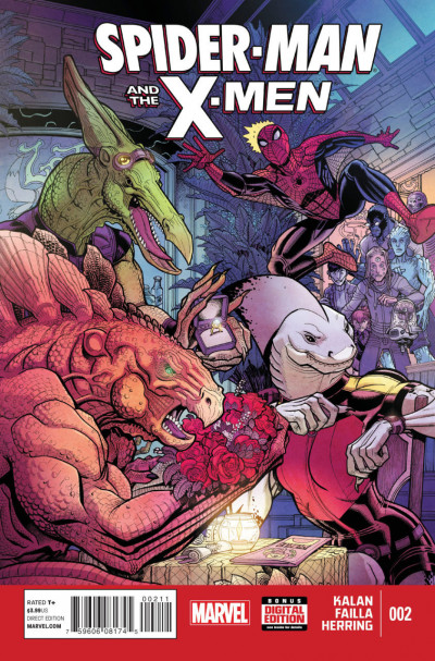 SPIDER-MAN AND THE X-MEN (2014) #2 VF/NM