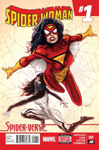 SPIDER-WOMAN (2014) #1 VF/NM
