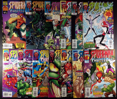 Spider-Man Chapter One (1999) #0 1-12 complete set w/#2 DF variant John Byrne