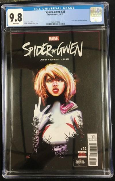 Spider-Gwen (2015) #24 CGC 9.8 1st appearance Gwenom (1565371006)
