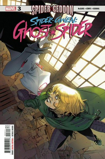Spider-Gwen: Ghost-Spider (2018) #3 VF/NM Bengal Cover