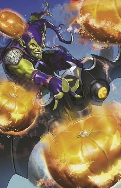 Spider-Gwen: Ghost-Spider (2018) #8 VF/NM Marvel Battle Lines Goblin Variant