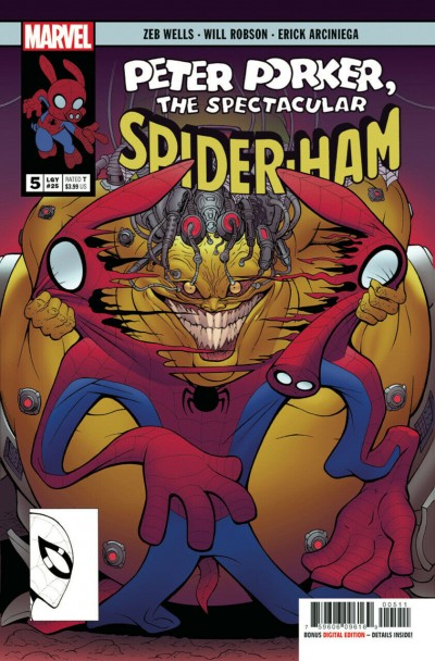Spider-Ham (2019) #5 VF/NM Will Robson Cover Peter Porker