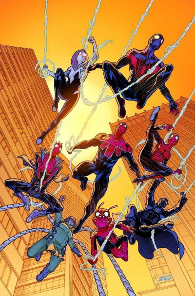 Spider-Geddon (2018) #1 VF/NM 1:25 Variant Cover
