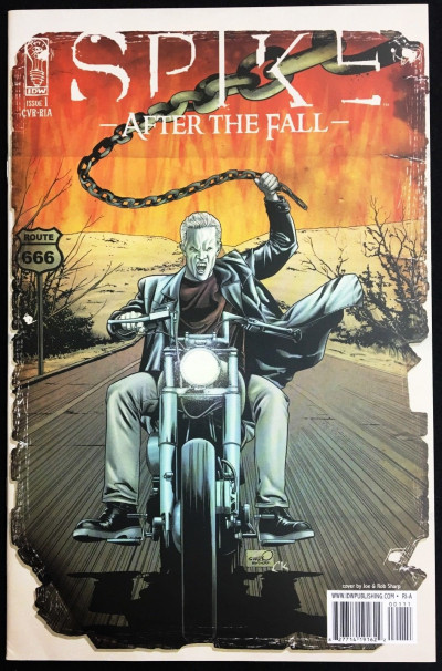 Spike After The Fall (2008) #1 & 2 virgin variant cover Joss Whedon BTVS IDW