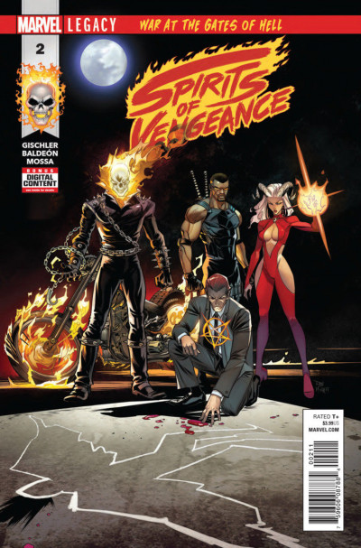 Spirits of Vengeance (2017) #2 of 5 VF/NM
