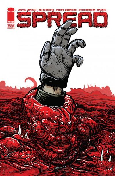Spread (2014) #25 VF/NM Cover B Image Comics
