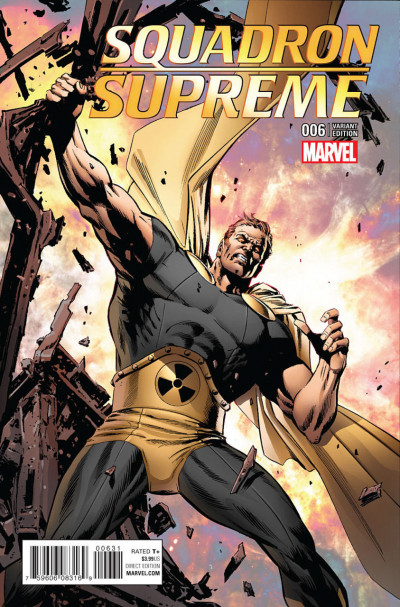 Squadron Supreme (2015) #6 VF/NM Butch Guice Classic Variant Cover
