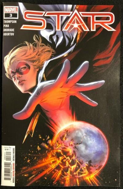 Star (2020) #3 NM (9.4) Carmen Carnero Regular Cover A Captain Marvel app
