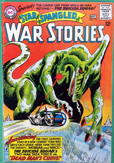 Star Spangled War Stories (1952) #116 FN+ (6.5) Dinosaur cover