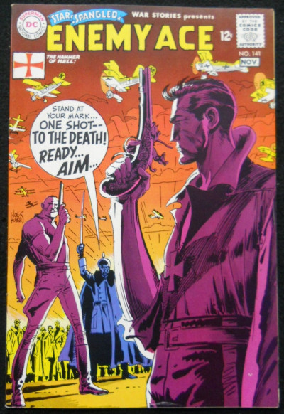 STAR SPANGLED WAR STORIES #141 ENEMY ACE KUBERT