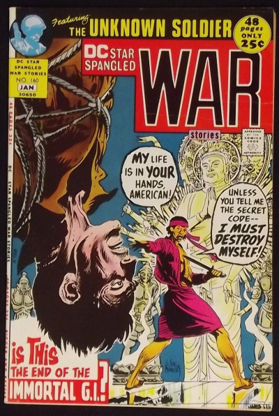 STAR SPANGLED WAR STORIES #160