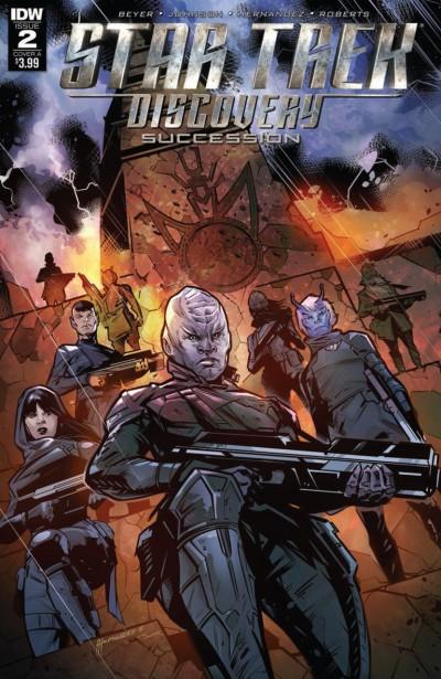 Star Trek: Discovery: Succession (2018) #2 VF/NM IDW