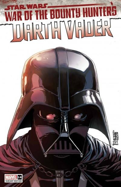 Star Wars: Darth Vader (2020) #14 VF/NM Giuseppe Camuncoli Headshot Variant WOBH