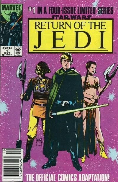 Star Wars Return of the Jedi (1983) #1 2 3 4 VF/NM-NM Newsstand High Grade Set