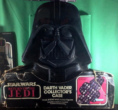 Star Wars ROTJ 1983 Darth Vader Collector's Case complete with sleeve/stickers
