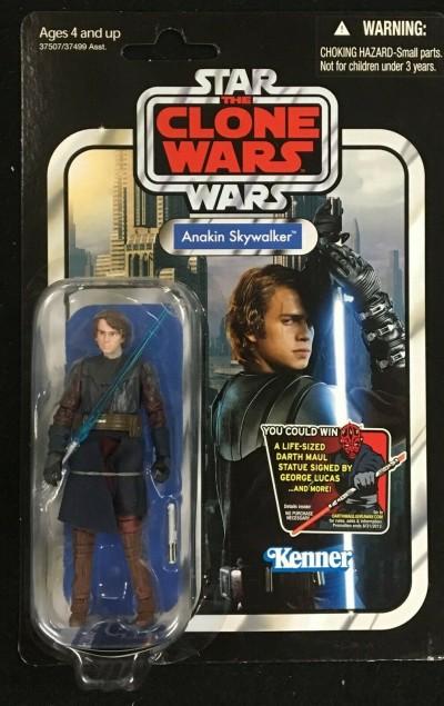 | Star Wars The Clone Wars Anakin Skywalker Vintage ...